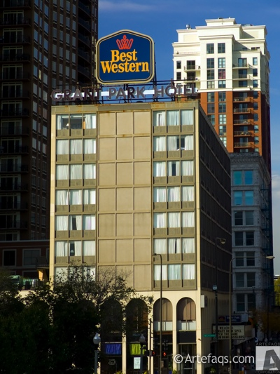 Stock photo of Best Western Grant Park Hotel - Chicago, Illinois