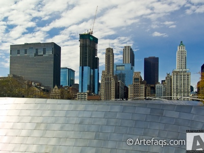 Stock photo of Legacy at Millennium Park - Chicago, Illinois
