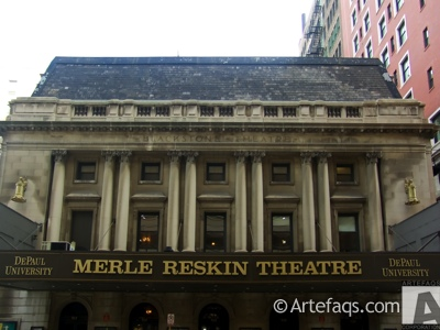 Stock photo of Merle Reskin Theatre - Chicago, Illinois