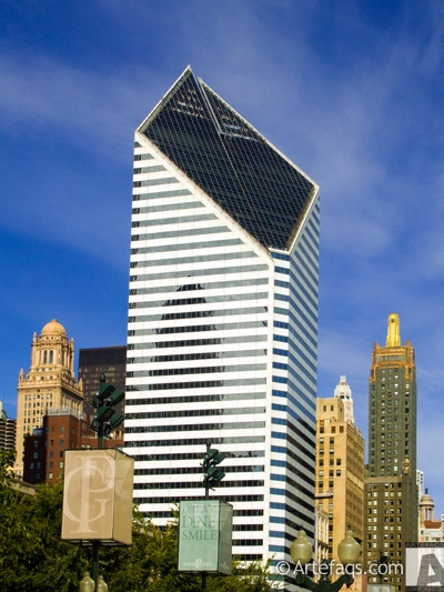 Stock photo of Smurfit-Stone Building - Chicago, Illinois