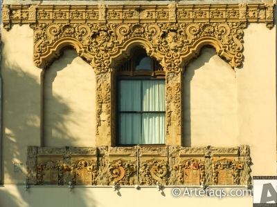 Photograph of Architectural details - Los Angeles, California