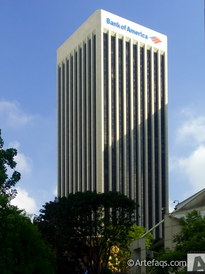 Stock photo of Bank of America Plaza - Los Angeles, California