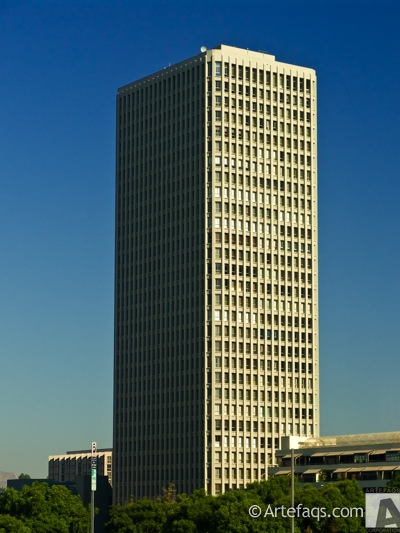 Photograph of Bunker Hill Tower - Los Angeles, California