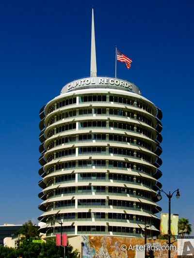 Stock photo of Capitol Records Building - Los Angeles, California