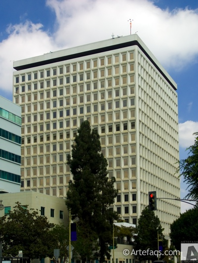 Photograph of City Hall East - Los Angeles, California