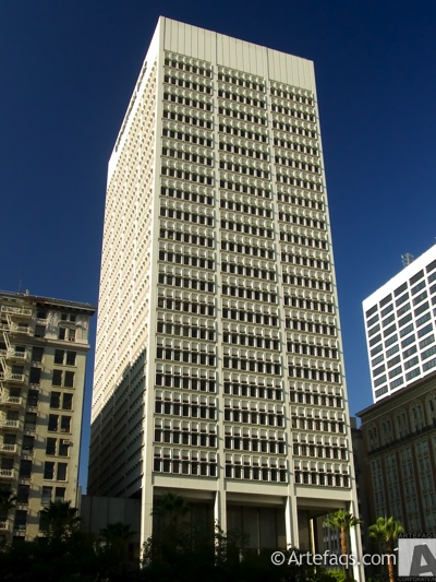 Stock photo of City National Bank Building - Los Angeles, California