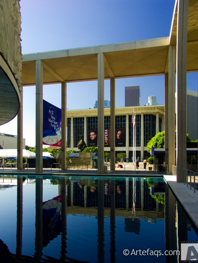 Stock photo of Dorothy Chandler Pavilion - Los Angeles, California