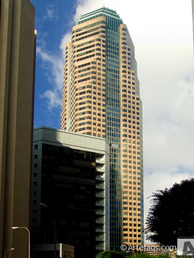 Stock photo of Figueroa at Wilshire - Los Angeles, California