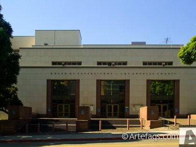 Stock photo of Kenneth Hahn Hall of Administration - Los Angeles, California