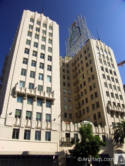 Stock photo of Lofts at Hollywood and Vine - Los Angeles, California