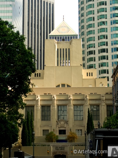 Stock photo of Los Angeles Central Library - Los Angeles, California