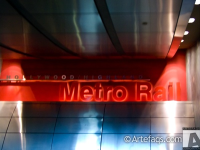 Photograph of Los Angeles Metro Hollywood and Highland station - Los Angeles, California