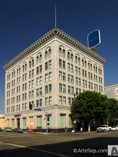 Photograph of Security Pacific Building - Los Angeles, California