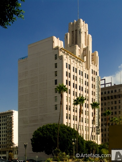 Stock photo of Title Guarantee Building - Los Angeles, California