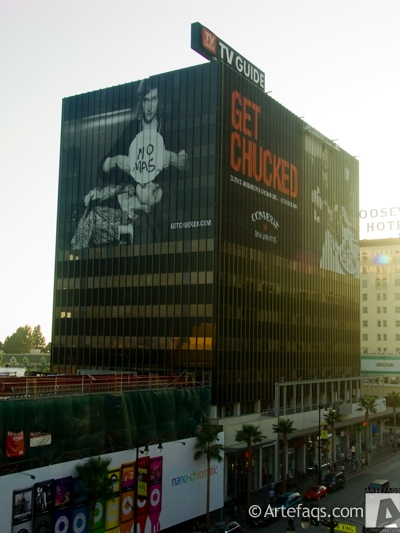 Photograph of TV Guide Building - Los Angeles, California