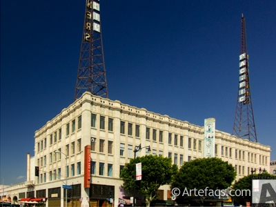 Stock photo of Warners Pacific Theater - Los Angeles, California
