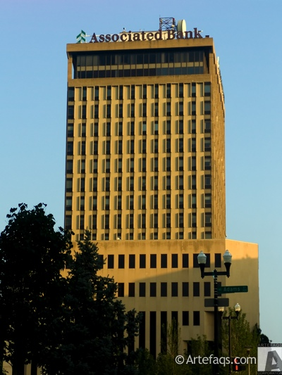 Stock photo of Associated Bank Plaza - Peoria, Illinois