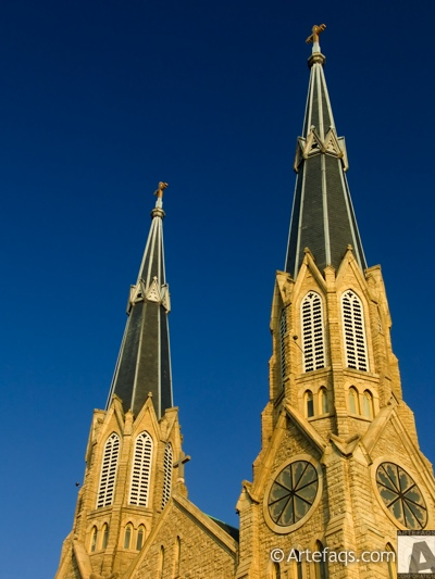 Stock photo of Cathedral of Saint Mary - Peoria, Illinois