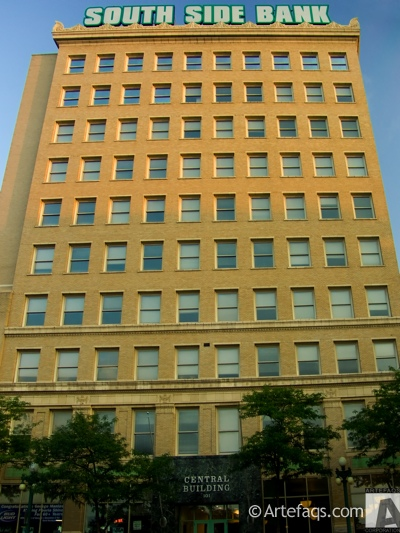 Stock photo of Central Building - Peoria, Illinois