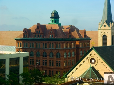 Stock photo of City Hall - Peoria, Illinois