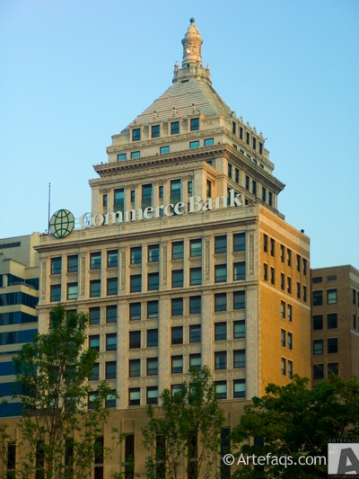 Photograph of Commerce Bank Building - Peoria, Illinois