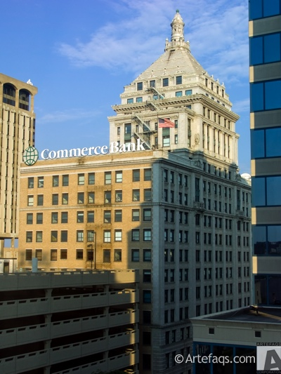 Stock photo of Commerce Bank Building - Peoria, Illinois