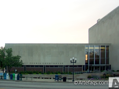 Photograph of County of Peoria Courthouse - Peoria, Illinois