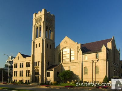 Photograph of First United Methodist Church of Peoria - Peoria, Illinois