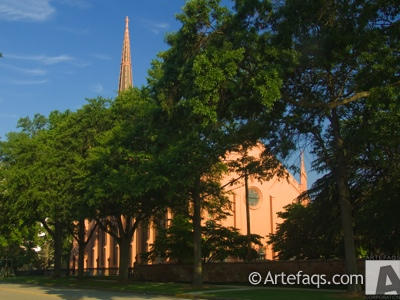 Stock photo of First Presbyterian Church - Columbia, South Carolina