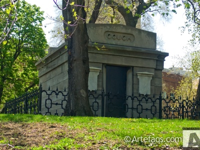Stock photo of The Couch Tomb - Chicago, Illinois