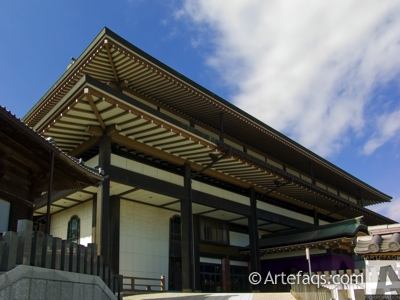 Stock photo of Korinkaku Hall - Narita City, Japan
