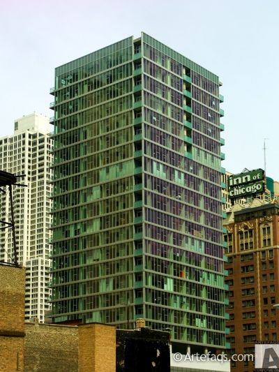 Stock photo of 550 Saint Clair - Chicago, Illinois