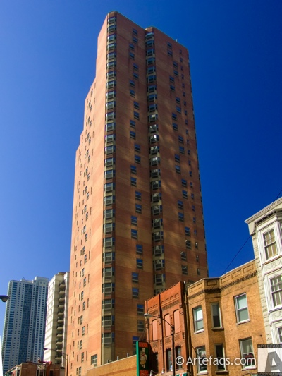 Stock photo of Chestnut Place Apartments - Chicago, Illinois -