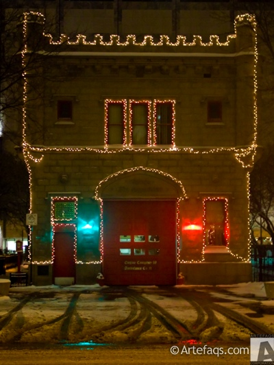 Photograph of Chicago Fire Station 98 - Chicago, Illinois - De
