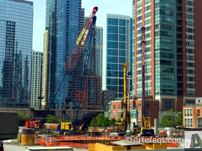 Photograph of Chicago Spire - Chicago, Illinois