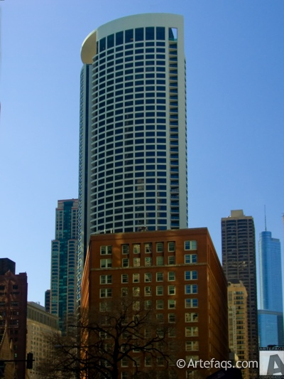 Photograph of Clare at Water Tower - Chicago, Illinois