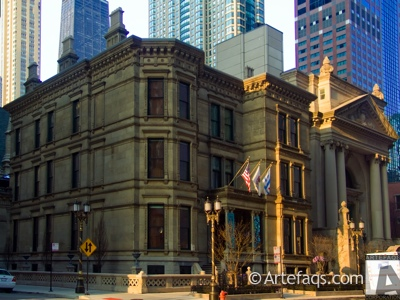 Stock photo of Driehaus Museum - Chicago, Illinois