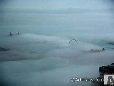 Stock photo of Fog - Chicago, Illinois -