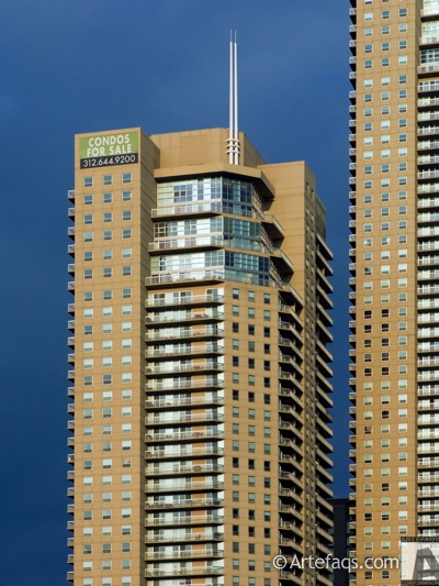 Stock photo of Grand Plaza West Tower - Chicago, Illinois