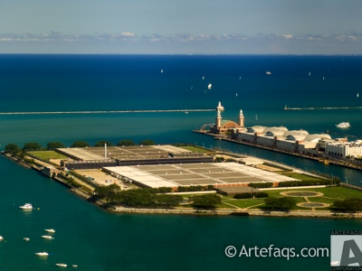 Photograph of Jardine Water Filtration Plant - Chicago, Illinois