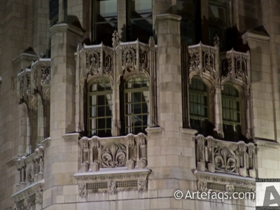 Stock photo of Tribune Tower  - Chicago, Illinois -