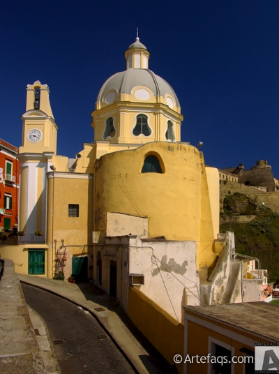 Stock photo of Church of the Grateful Madonna - Procida, Italy