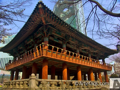 Stock photo of Bosingak Bell Tower - Seoul, South Korea