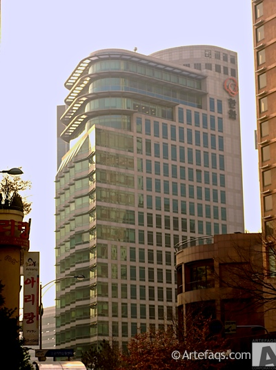 Photograph of Hanhwa Group Headquarters - Seoul, South Korea