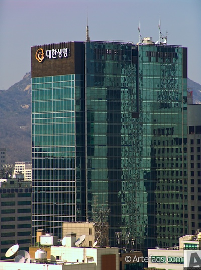 Photograph of Hanhwa Insurance Building - Seoul, South Korea -