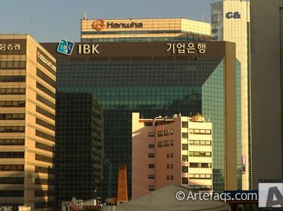 Photograph of Industrial Bank of Korea - Seoul, South Korea -