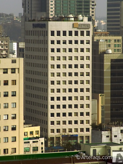 Stock photo of Keris Building - Seoul, South Korea