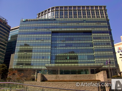 Photograph of Korea Chamber of Commerce and Industry Building - Seoul, South Korea -