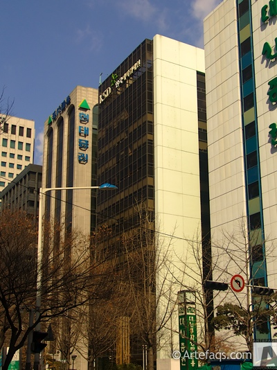 Stock photo of Korean Securities Depository Head Office - Seoul, South Korea
