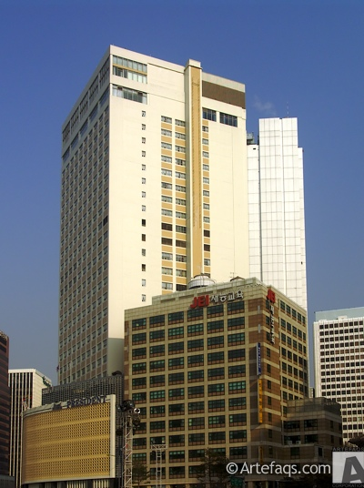 Stock photo of President Hotel - Seoul, South Korea